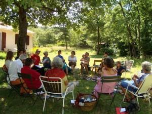 Réunion Ecoravie en été 2009