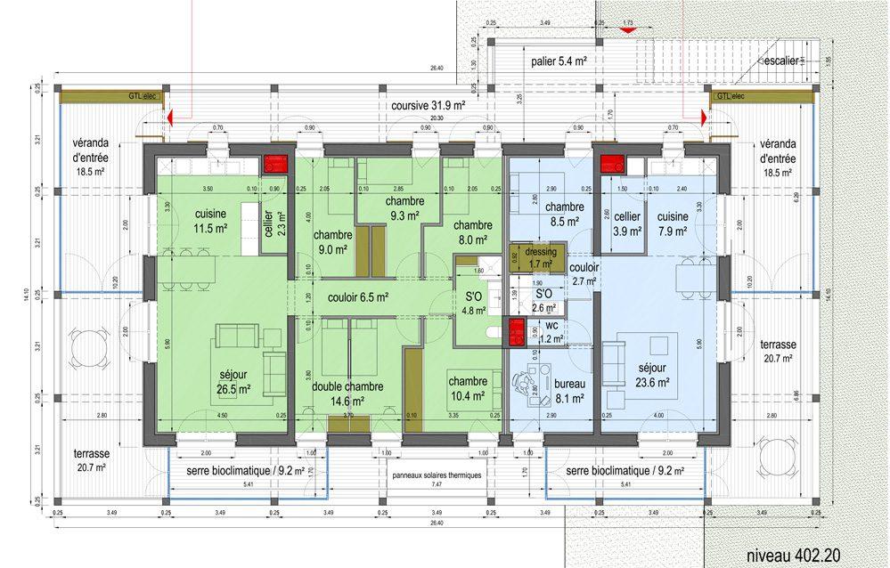 Exemple de plan d'étage