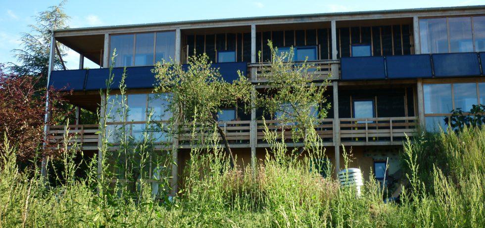 Bâtiment Bioclimatique Au Fil Des Saisons Habitat Groupé